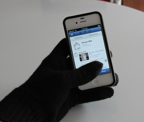 Etre FIVEPOINT and Touchy Gloves in technology style fashion  Category