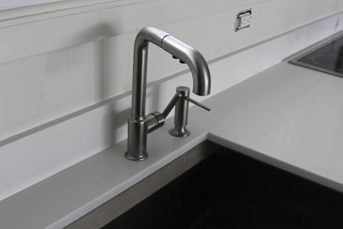 The House Milk Kitchen Project: Sink and Faucet