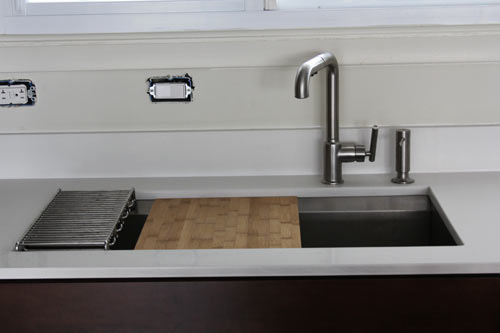 The House Milk Kitchen Project: Sink and Faucet - Design Milk