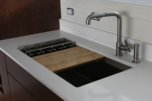 kitchen sink cutting board the house milk kitchen project sink and faucet design milk 5692