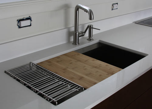 The House Milk Kitchen Project Sink And Faucet Design Milk