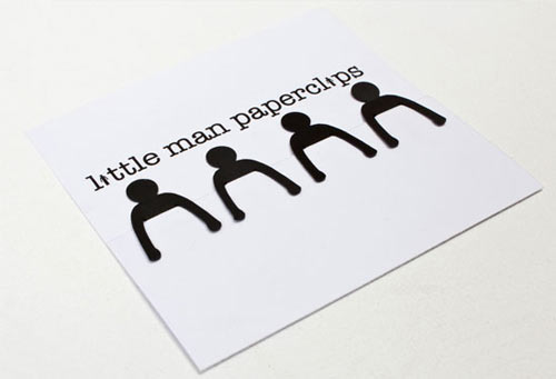 Little Man Paperclips by Lee Washington