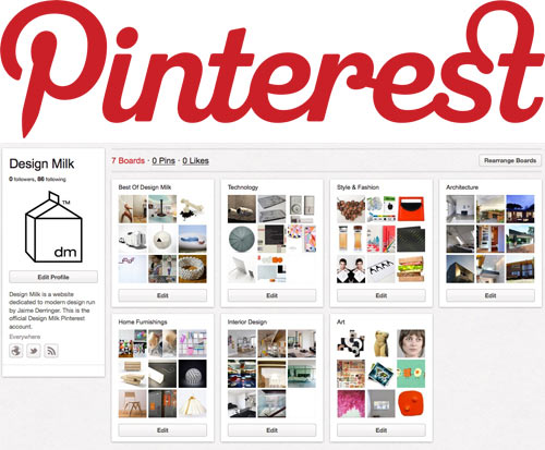 Design Milk on Pinterest
