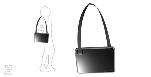 Inspired by... Ultrabook: Brad Ascalon Designs The New Laptop Bag in technology style fashion news events  Category