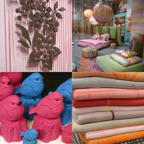 Trends at Maison & Objet 2012 in news events interior design home furnishings  Category