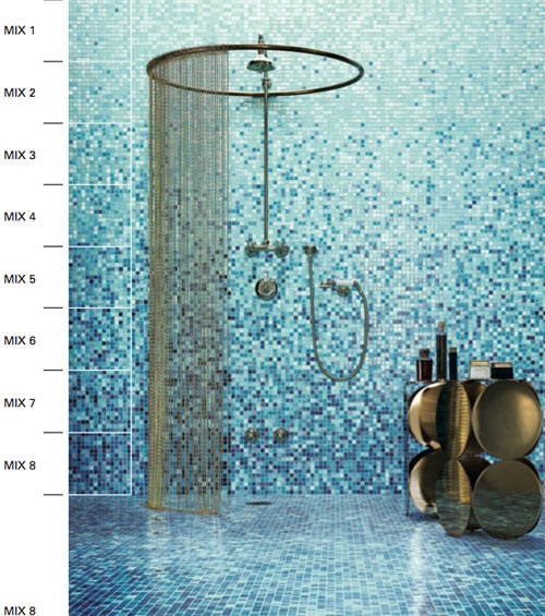 bisazza mosaic tile pioneers design milk. Black Bedroom Furniture Sets. Home Design Ideas