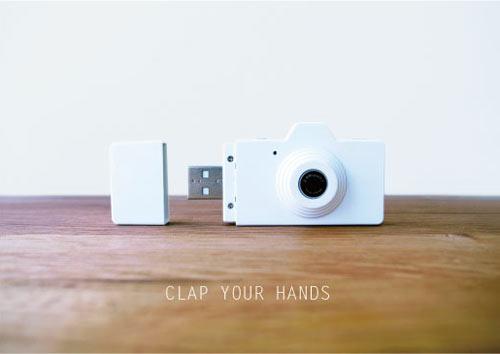 Clap Your Hands Digital USB Camera