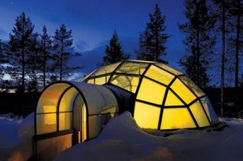 Igloo Village Kakslauttanen in main interior design architecture  Category