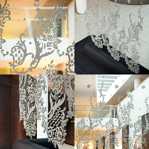 Concrete Lace by Doreen Westphal at Maison & Objet in main interior design home furnishings art  Category