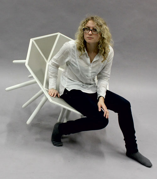 EKSTramus Chair by Beata Patasiute