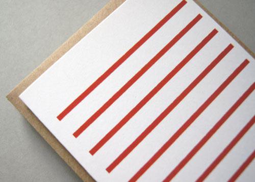Stripetown & Herringbone Cards by Karte Design Fabrik in style fashion main art  Category