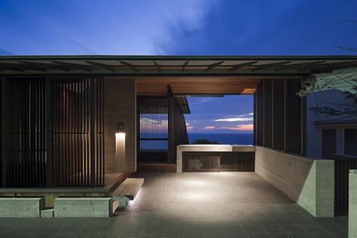 Wind-Dyed House by Kazuhiko Kishimoto