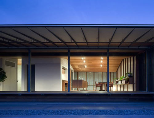 Wind Dyed House by Kazuhiko Kishimoto in architecture  Category