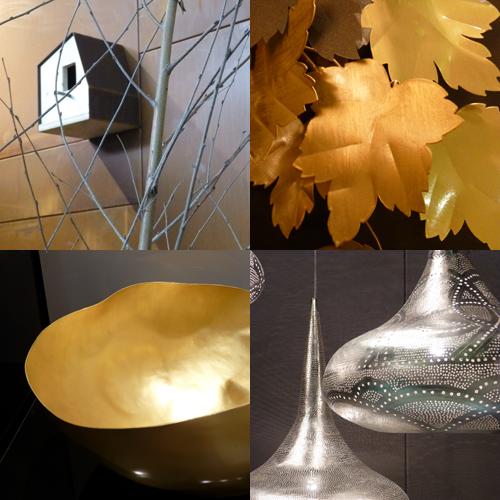 Metallics at Maison et Objet