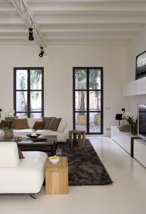 Barcelona Apartment by YLAB Arquitectos in main interior design  Category