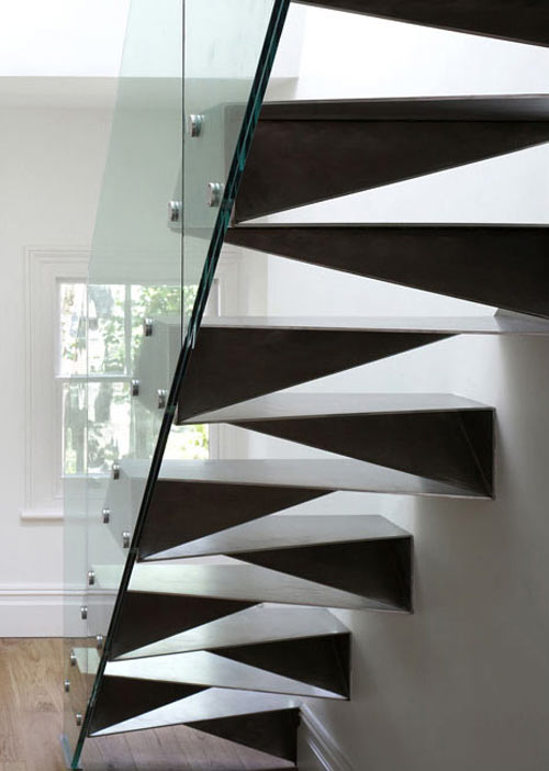 20 beautiful modern staircases design milk for Gradas de caracol