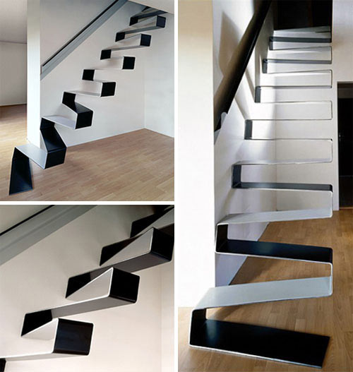 Modern Stairs 20 Beautiful Modern Staircases  Design Milk