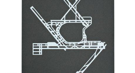 Airport Runway Screenprints by NOMO Design