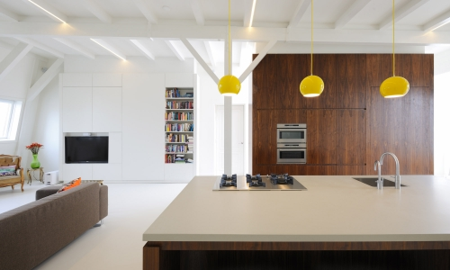 Skim Milk: Apartment Weteringschans by I Love Architecture in interior design  Category