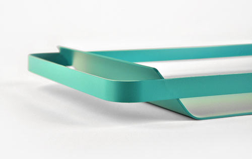 Battista Tray by Mr. Less & Mrs. More in main home furnishings  Category