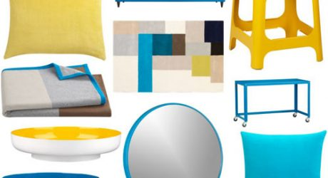 Blue and Yellow at CB2