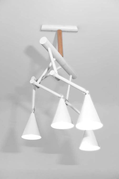 Foldy Lamp Family by Ia Kutateladze