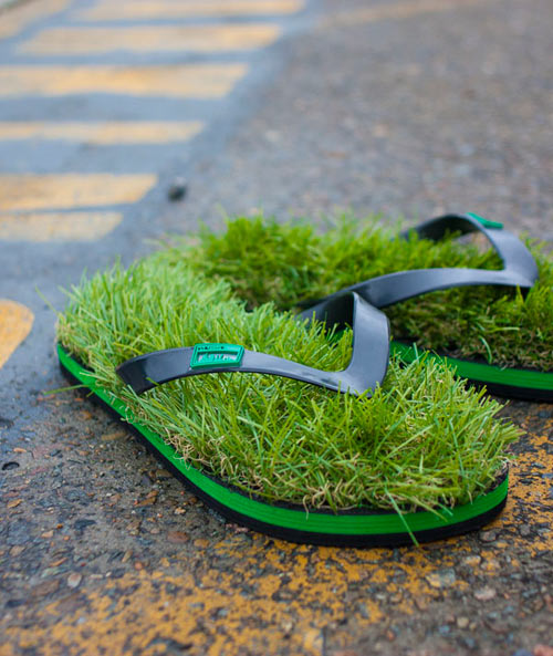 Grass Flip Flops in style fashion main  Category