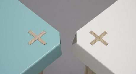 Plus Side Table by Goodwin + Goodwin