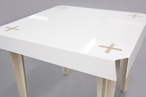 Plus Side Table by Goodwin + Goodwin in home furnishings  Category