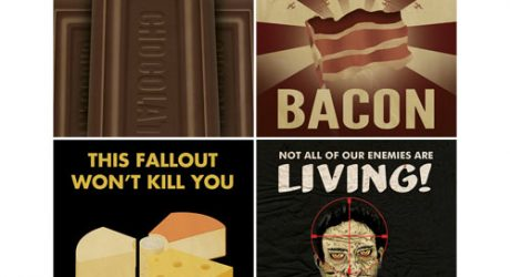 New Posters from Aaron Wood – Viva La Bacon!