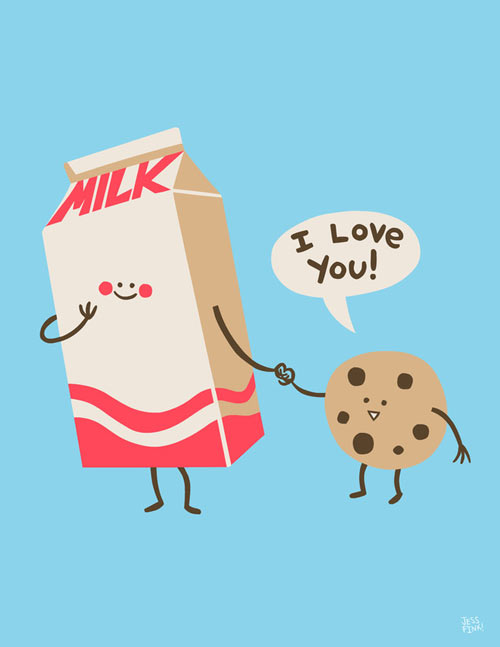 Character Design Kawaii : Fresh from the dairy cute characters design milk