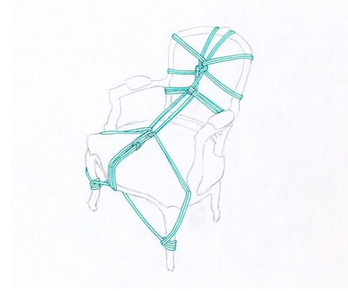 Serial Bondage by Kennedy James in art  Category