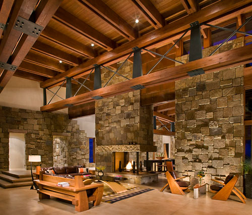 Canyon Point Residence by RKD Architects