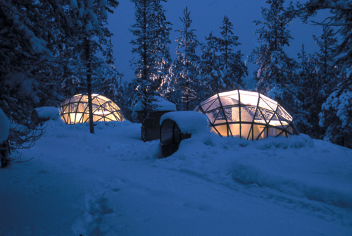 Diseño Destino: Igloo Village Kakslauttanen