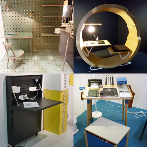 Office Furniture at Stockholm Furniture Fair in main interior design  Category