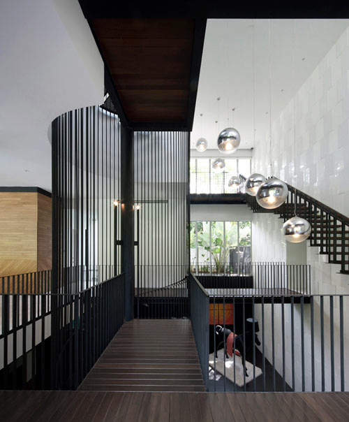 Black & White House by Formwerkz Architects in main architecture  Category