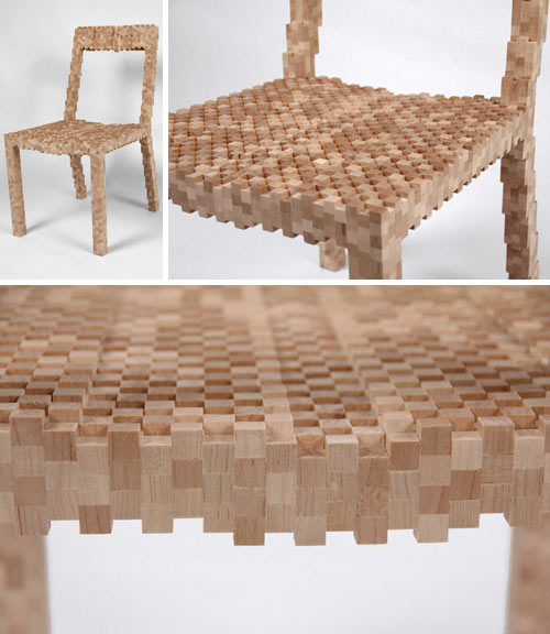 Our Favorite Pixelated Designs in technology style fashion main interior design home furnishings architecture  Category