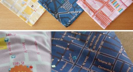 Soft Cities Map Blankets & Napkins