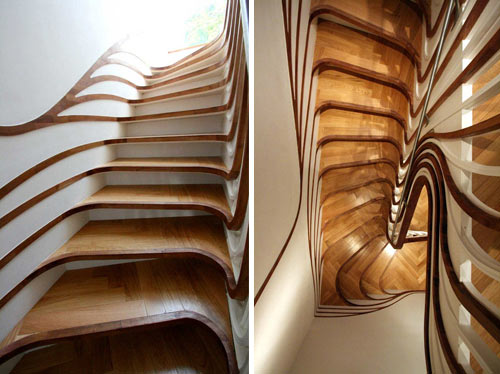 You Canu0027t Write A Post About Stairs And Not Include The Trippy Stairs That  We Featured Last Year. They Are Certainly Some Of The Most Unique Stairs  Weu0027ve ...