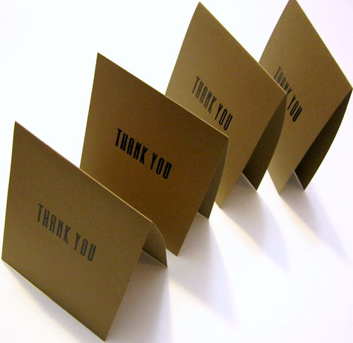 30 modern thank you cards design milk
