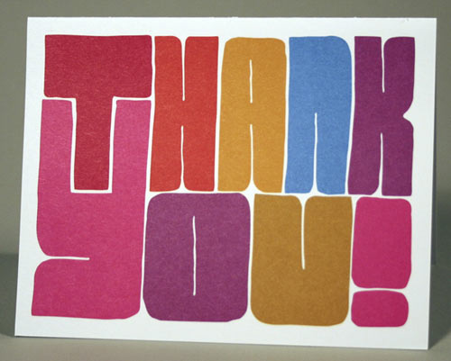 Cool Thank You Cards Aprilmydearestco