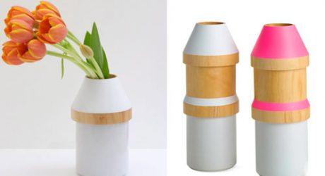 Adónde Wood & Stoneware Vases