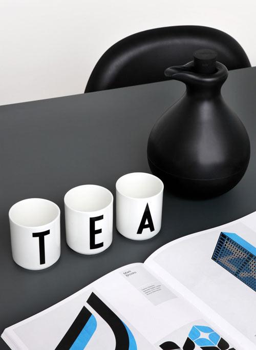 Arne Jacobsen Letter Cups