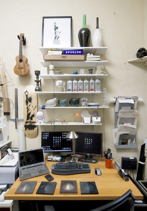 Where I Work: Brad Ascalon in technology sponsor main interior design  Category