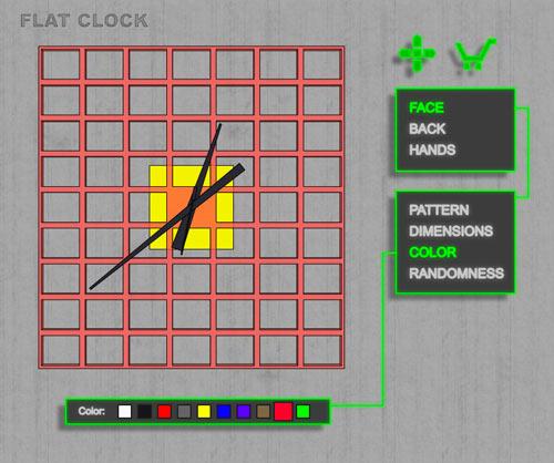 flat-clock-5