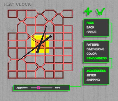 flat-clock-6