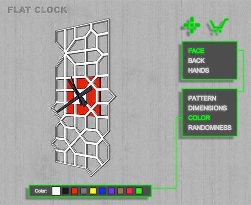 flat-clock-7