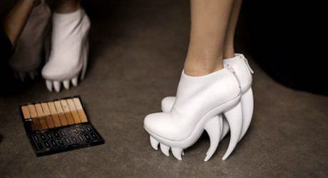 Iris van Herpen x United Nude Fang Shoes