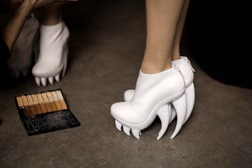 Iris van Herpen x United Nude Fang Shoes