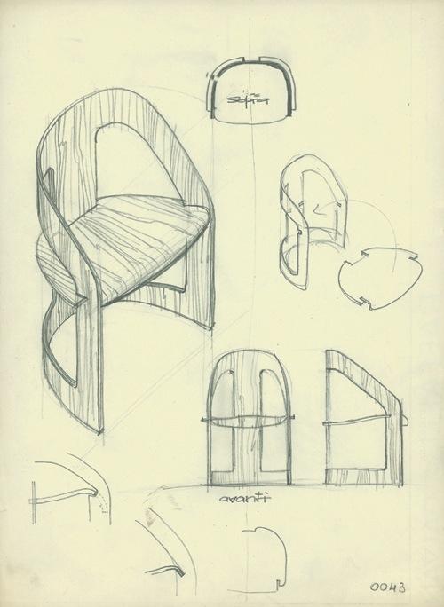 Kartell 4801 Chair, Reissued